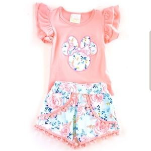 Minnie Mouse Toddler Matching Set